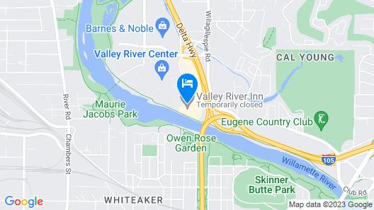 Valley River Inn Map