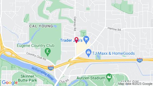 Hyatt Place Eugene / Oakway Center Map