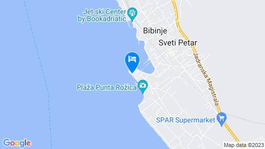 Villa Vito Map