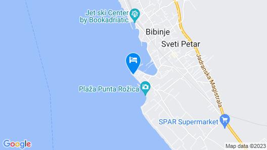 Apartments Nina Map