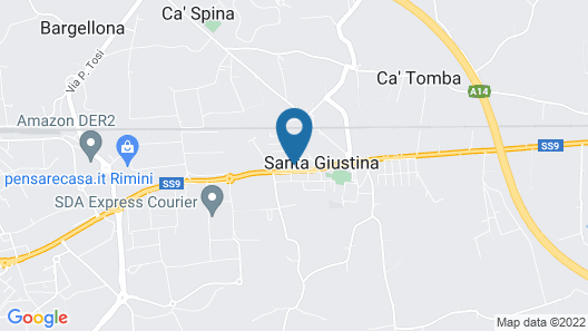 Hotel San Clemente Map