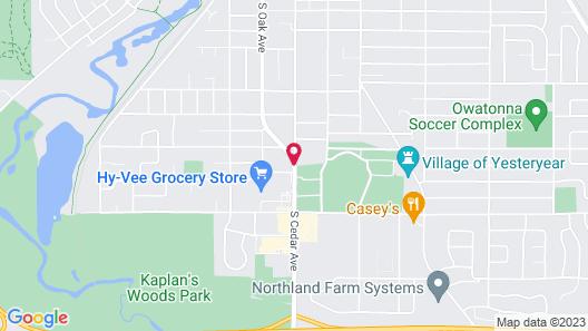 Oakdale Motel Map
