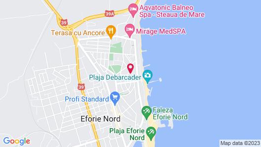 Hotel Neptun Eforie Nord Map