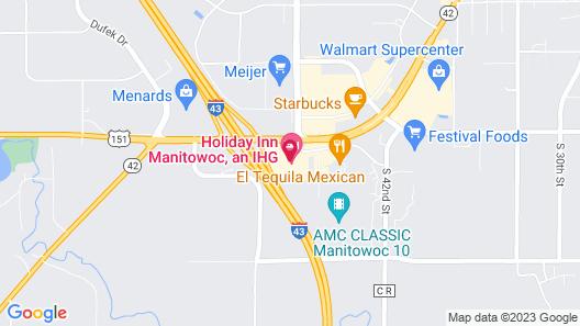 Holiday Inn Manitowoc, an IHG Hotel Map