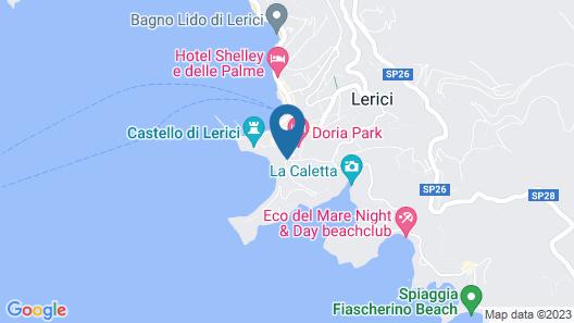 Doria Park Hotel Map