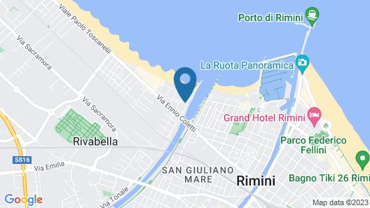 Villa Grazia Map