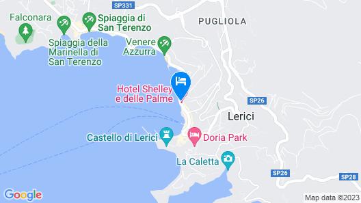 Hotel Shelley e delle Palme Map