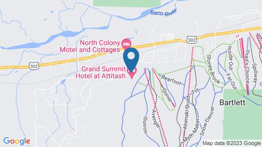 Grand Summit Hotel at Attitash Map