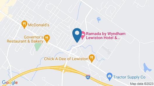 Ramada Hotel & Conference Center by Wyndham Lewiston Map