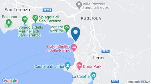 Hotel Venere Azzurra Map