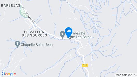 Village Vacances Le Richelme  Map