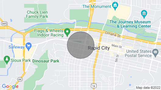 Downtown 2 Bedroom Charmer - Walk, Bike, Visit, Enjoy!! Map