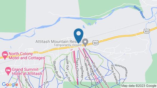 Attitash Mountain Village Map