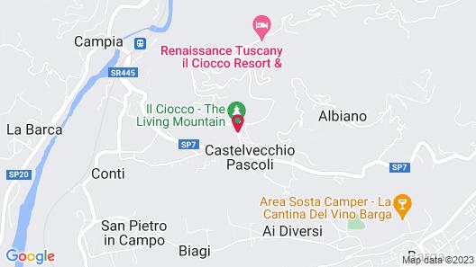 Renaissance Tuscany Il Ciocco Resort & Spa Map