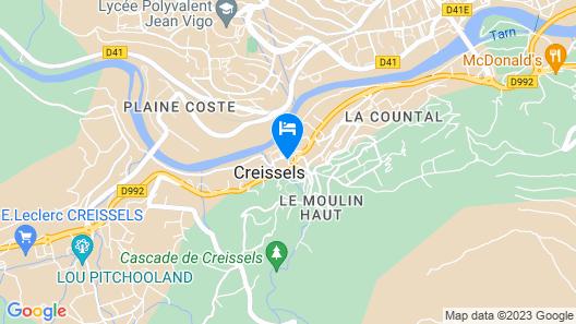 Château de Creissels Map