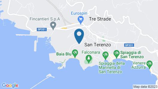 Baia Blu Rta Map