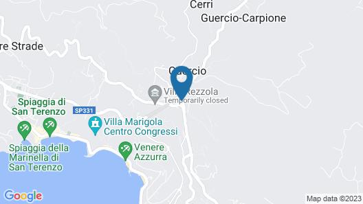 Terre di Liguria Map