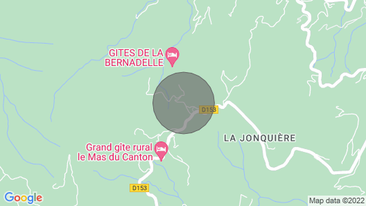 La Bernadelle mas Cévenol in the Heart of Nature Map