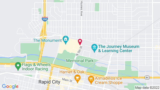 Holiday Inn Rapid City-Rushmore Plaza, an IHG Hotel Map