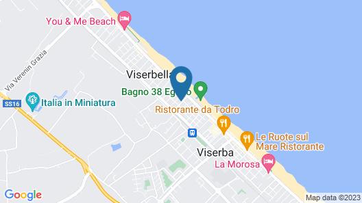Hotel Avana Mare Map
