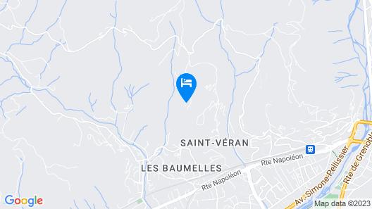 Ce Nid d'Aigle - Chambres d'hôtes Map