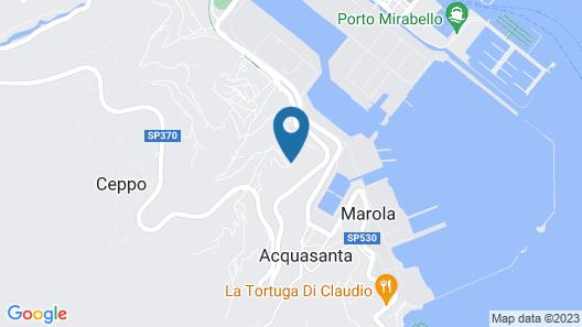 Miramare Apartments & Suites Map