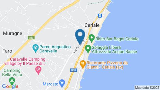 Residence Oliveto Map