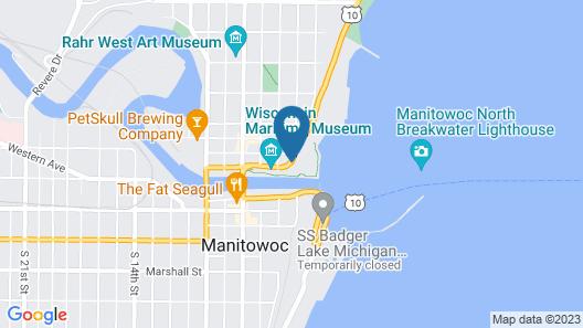 Baymont by Wyndham Manitowoc Lakefront Map