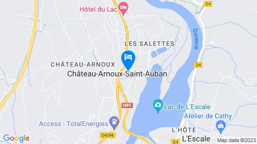 La Bonne Etape Map