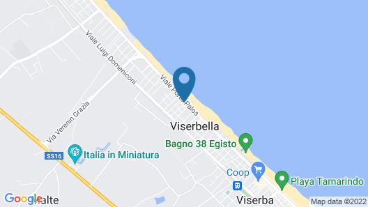 Hotel Cadiz Map
