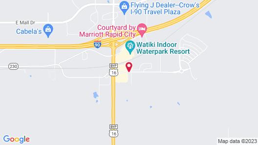 Baymont by Wyndham Rapid City Map
