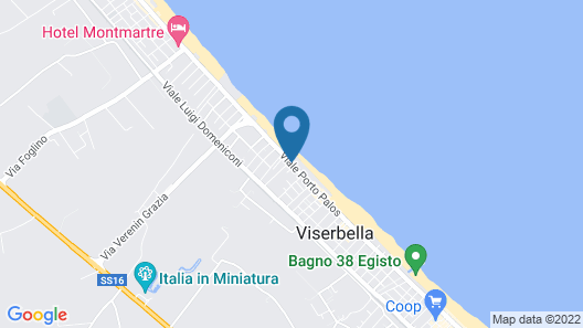 You & Me Beach Hotel Map