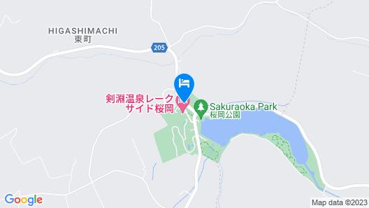 Lakeside Sakuraoka Map