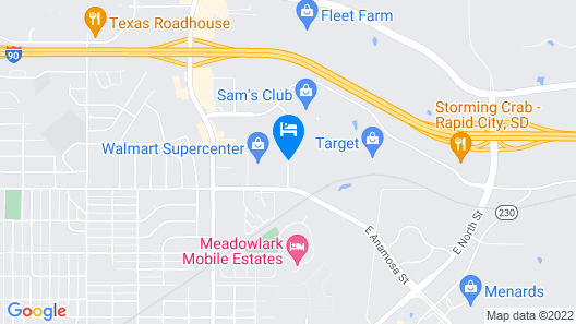 Staybridge Suites Rapid City - Rushmore Map
