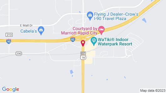 Fairfield Inn & Suites by Marriott Rapid City Map