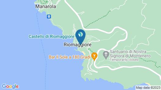 SailorsRest - Riomaggiore Cinque Terre Map