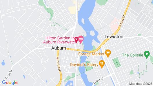 Hilton Garden Inn Auburn Riverwatch Map