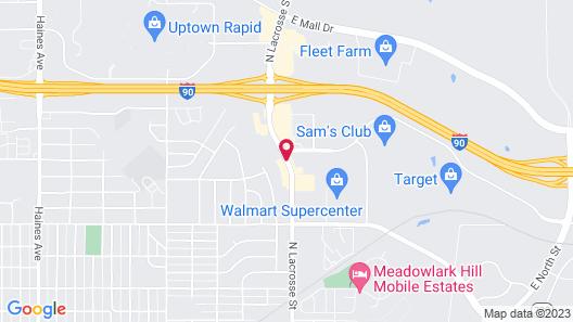 Foothills Inn Map