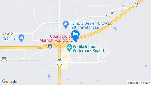 Home2 Suites by Hilton Rapid City Map