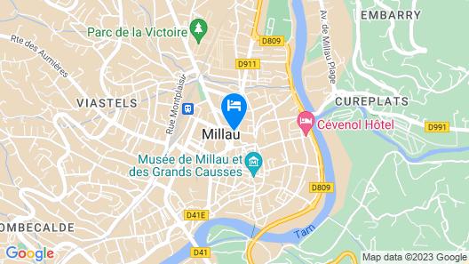 Mercure Millau Map
