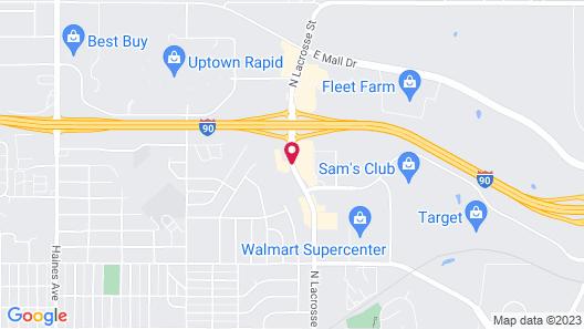 Grand Gateway Hotel Map