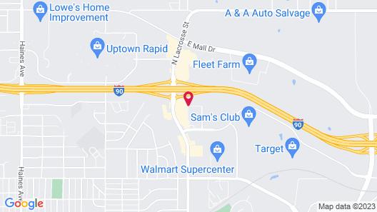 Motel 6 Rapid City, SD Map