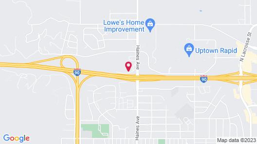 Super 8 by Wyndham Rapid City Map