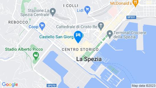 CDH Hotel La Spezia Map