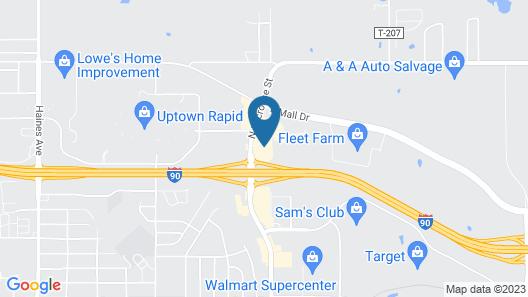Serena Inn & Suites- Rapid City Map
