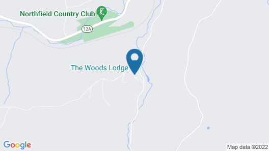 The Woods Lodge Map