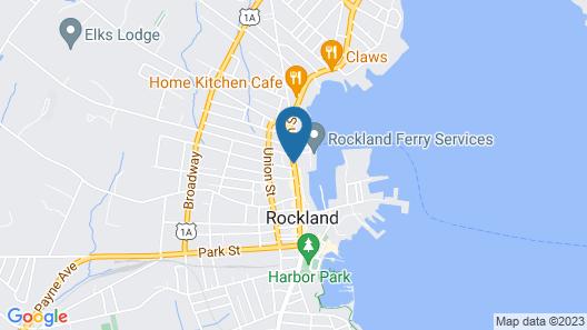 Rockland Harbor Hotel Map