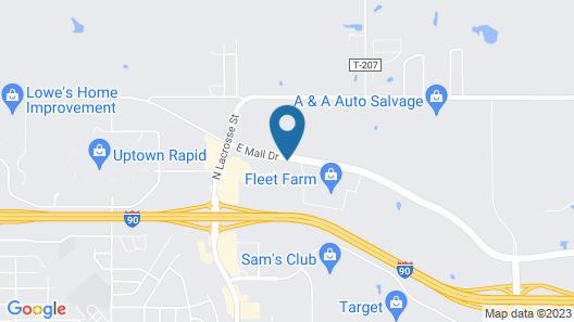 Hilton Garden Inn Rapid City Map