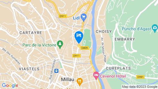 Hôtel des Voyageurs Map