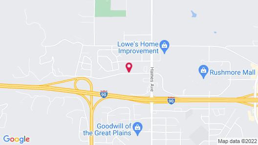 GrandStay Residential Suites - Rapid City Map